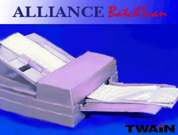 Alliance BatchScan document scanning