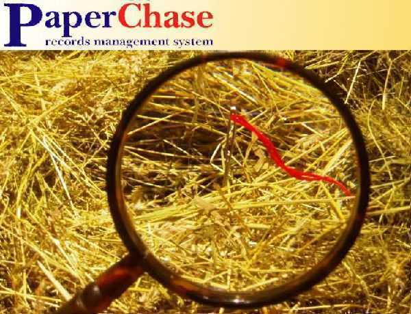 Alliance PaperChase records management